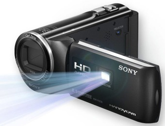 $160 off Sony HDR-PJ230 Flash Memory Camcorder w/ Projector