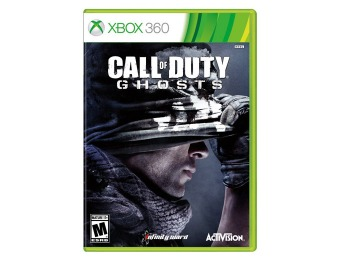 $15 off Call of Duty: Ghosts - Xbox 360