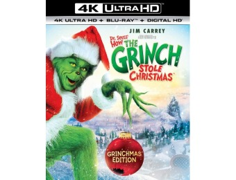 60% off Dr. Seuss' How the Grinch Stole Christmas (4K Ultra HD)