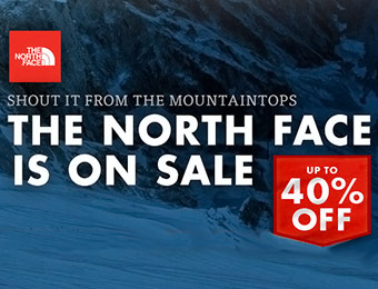 The North Face Sale - Up to 40% off!