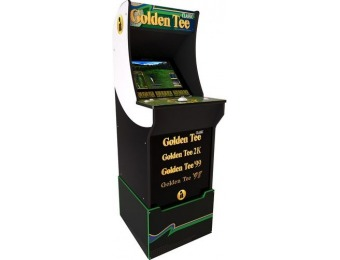 $250 off Arcade1Up Golden Tee Arcade Cabinet with Riser