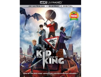 48% off The Kid Who Would Be King (4K Ultra HD Blu-ray/Blu-ray)