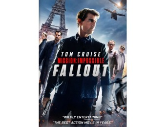 83% off Mission: Impossible Fallout (DVD)