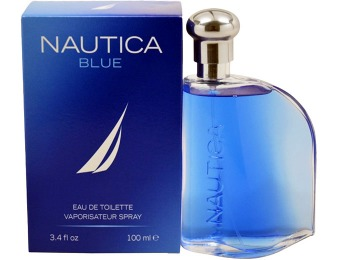 79% off Nautica Blue Eau de Toilette 3.4 oz. Spray for Men