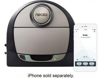 $330 off Neato Botvac D7 Connected App-Controlled Robot Vacuum
