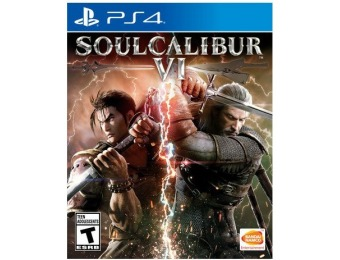 $40 off SOULCALIBUR VI - PlayStation 4
