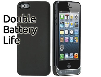 70% off Titan iPhone 5 2200 mAh Rechargeable Battery Case
