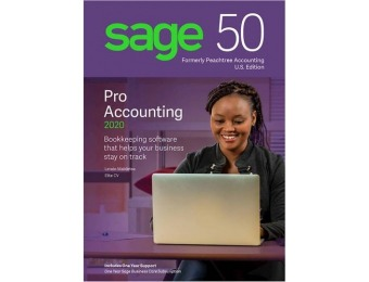 $190 off Sage 50 Pro Accounting 2020 - Windows