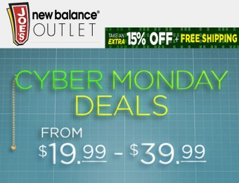 Cyber Monday Deals - Shoes for $19.99 - $39.99 + Extra 15% off