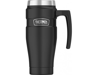 60% off THERMOS 16.7-Oz Thermal Cup - Matte black
