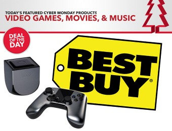 Cyber Monday Sale on Video Games, Movies, and Music