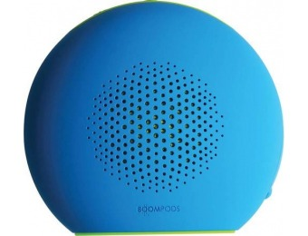 $20 off Boompods Doubleblaster 2 Bluetooth Speaker - Blue Green
