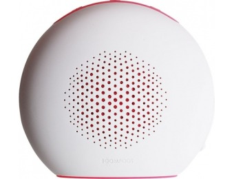 $20 off Boompods Doubleblaster 2 Bluetooth Speaker - White/Pink