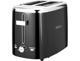 50% off Bella 2-Slice Extra-Wide/Self-Centering-Slot Toaster