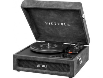 $35 off Victrola Bluetooth Stereo Turntable - Lambskin Gray
