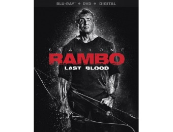 $12 off Rambo: Last Blood (Blu-ray/DVD)