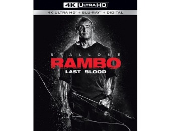 $13 off Rambo: Last Blood (4K Ultra HD Blu-ray/Blu-ray)
