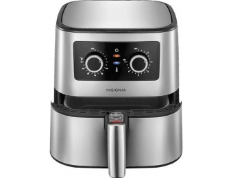 $50 off Insignia 5-qt Analog Air Fryer - Stainless Steel