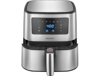 $70 off Insignia 5-qt Digital Air Fryer - Stainless Steel