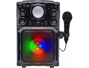 $30 off Karaoke USA MP3 Portable Karaoke System