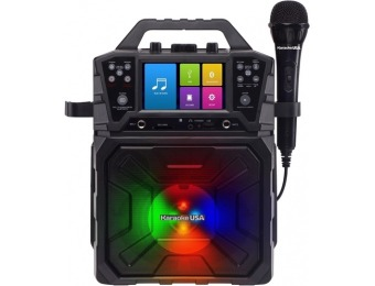 $40 off Karaoke USA MP3 Portable Karaoke System