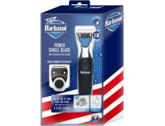 $15 off Barbasol Rechargeable Power Wet/Dry Electric Shaver