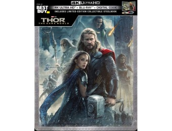 $20 off Thor: The Dark World [SteelBook] (4K Ultra HD/Blu-ray)