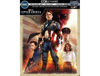 $15 off Captain America: The First Avenger (4K Ultra HD Blu-ray)