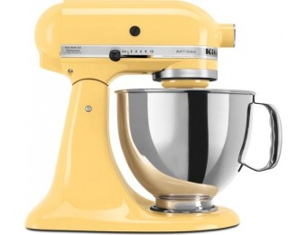 $220 off KitchenAid Artisan Tilt-Head Stand Mixer - Majestic Yellow