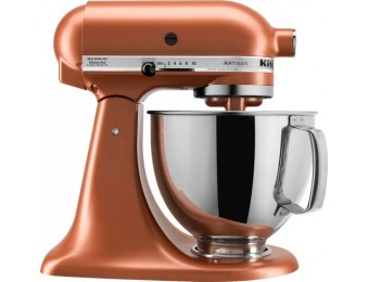 $250 off KitchenAid Artisan Tilt-Head Stand Mixer - Copper Pearl