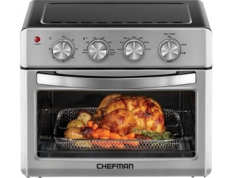 $100 off Chefman 25L Toaster Oven Air Fryer - Stainless Steel