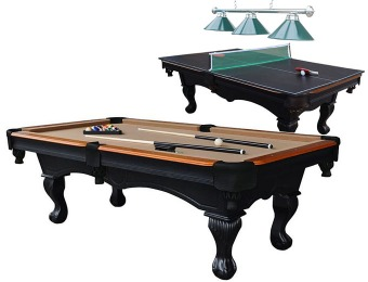 623 off md sports 8ft billiard table w table tennis for 12 in 1 game table sears
