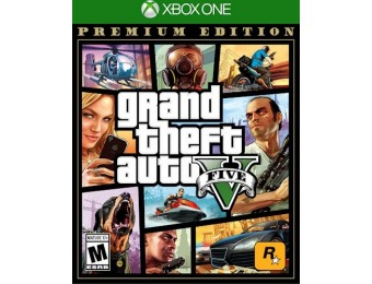 $47 off Grand Theft Auto V: Premium Edition - Xbox One