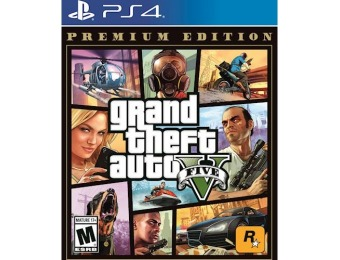70% off Grand Theft Auto V: Premium Edition - PlayStation 4