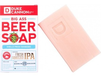 50% off Duke Cannon Big Ass Beer Deschutes Fresh Squeezed IPA Soap