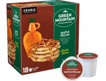 $4 off Keurig Green Mountain Maple Pecan K-Cup Pods (18-Pack)