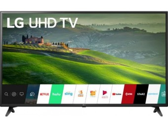 "$80 off LG 49"" LED UM6900PUA Smart 4K UHD TV"