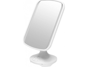$20 off iHome LED Vanity Mirror with Built-in Bluetooth Speaker