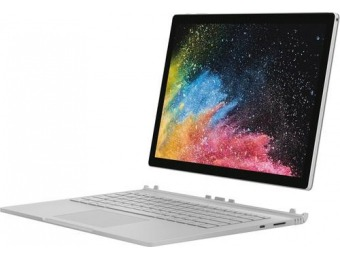 "$600 off Microsoft Surface Book 2 13.5"" 2-in-1 - Core i7, 8GB, 256GB"