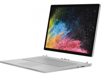 "$700 off Microsoft Surface Book 2 15"" 2-in-1 - Core i7, 16GB, 512GB"