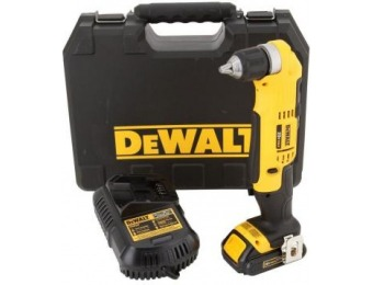 $99 off DeWalt 20V MAX Compact Right Angle Drill Kit