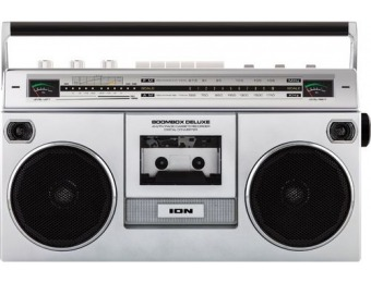 $80 off ION Audio Boombox with AM/FM Radio
