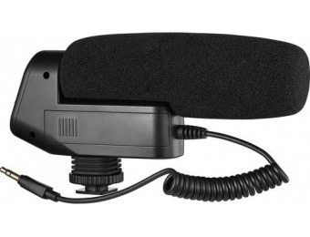 60% off Insignia On-Camera Powered Shotgun Microphone
