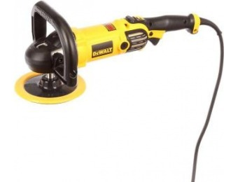 "$79 off DeWalt 12A 7""/9"" Variable Speed Polisher with Soft Start"