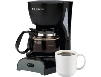 48% off Mr. Coffee DR5 Brewer 4-Cup Coffeemaker