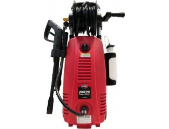 $71 off All Power 2000 PSI 1.6 GPM Red Electric Pressure Washer