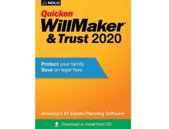 47% off Quicken WillMaker & Trust 2020 - Mac|Windows