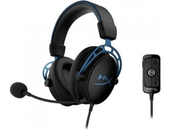 $40 off HyperX Cloud Alpha S 7.1 Surround Sound PC Gaming Headset