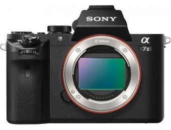 $800 off Sony Alpha a7 II Full-Frame Mirrorless Camera (Body Only)