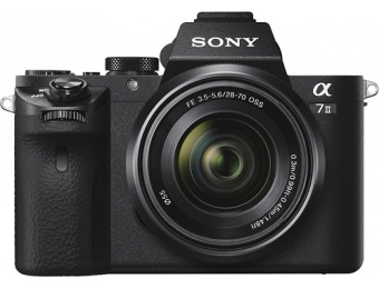 $1000 off Sony Alpha a7 II Mirrorless Camera w/ 28-70mm Lens